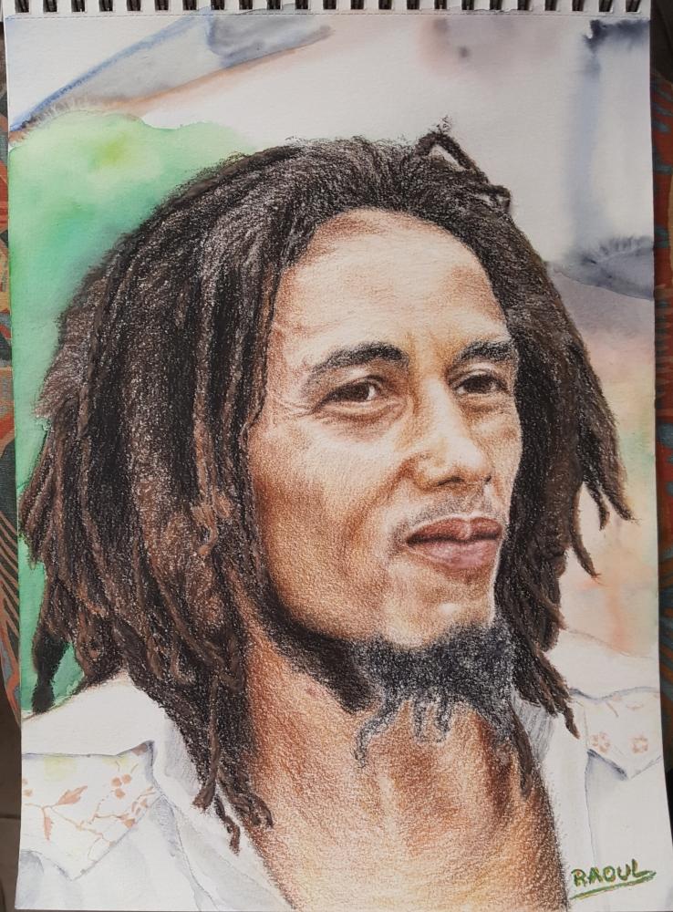 Bob Marley por Raoul.G